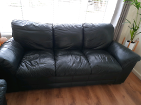 Leather 2 & 3 Seater Couch