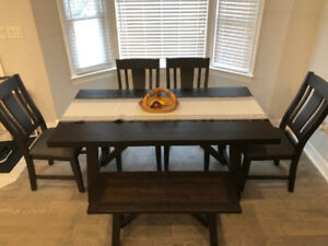 Kitchen dining set-kitchen table, chairs and bench.  BRAND NEW!