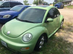 2003 Volkswagen New Beetle  GLS Turbo T Coupe