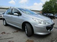 PEUGEOT 307 S HDI, Silver, Manual, Diesel, 2006 2 FORMER KEEPERS, CHEAP TAX