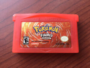 Pokemon Fire Red Nintendo DS/GBA game!