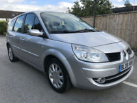 2008 RENAULT GRAND SCENIC DYNAMIQUE SILVER **7 SEATER**