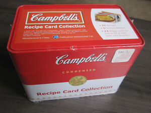 Recipe Card Collection, Campbells, Brand New..REDUCED Kitchener / Waterloo Kitchener Area image 1