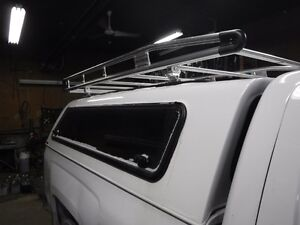 Truck cap - 'ARE' brand with roof rack - fits 14-16 Silverado