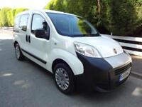 Fiat Qubo 1.4 Nemo White Estate MPV 2010 Low Miles 36k FSH Long Mot Bluetooth