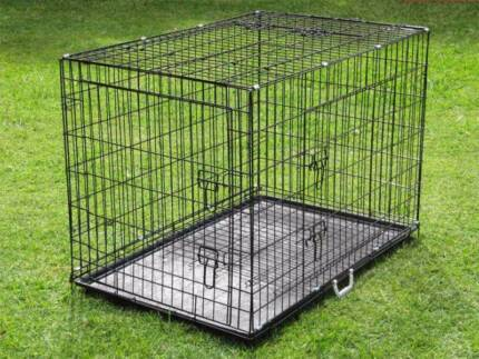 Dog Puppy Wire Crate Collapsible