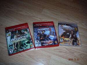 PS3 - série UNCHARTED complète