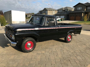 1963 Ford F100 Unibody Survivor