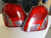 Pair of Toyota ECHO 2000-2001-2002 TAIL LAMPS
