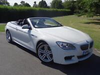 BMW 6 SERIES 640D M SPORT CONVERTIBLE [START/STOP] 2012/12