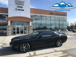 2016 Dodge Challenger R/T  LOW KMS, LOCAL TRADE, ACCIDENT FREE!!