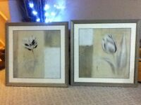 Two framed pictures by marcaux
