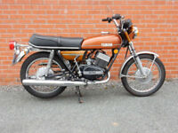 YAMAHA RD250 1974 Matching Frame & Engine Numbers MOT'd february 2019