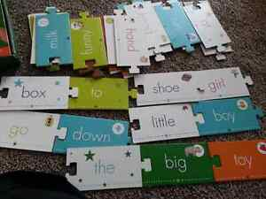 Sight word puzzle cards London Ontario image 2