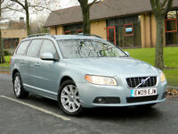 2009 09 Volvo V70 2.4 D5 SE Geartronic 5dr WITH F/S/H+LEATHER+SATNAV++