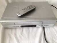 Phillips VCR and remote