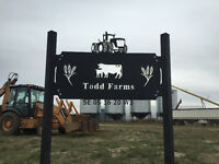 Cattle and Farm Equipment