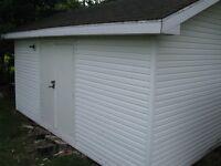 Storage shed 12' x 20'
