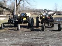 Tracteur HEFTY-G porte outil