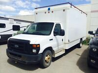 2007 Ford 16ft Cube van for sale