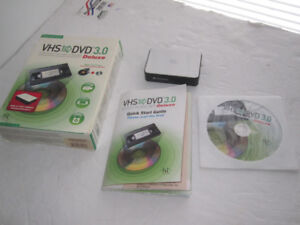 VHS to DVD 3 Deluxe Video Capture Hardware and Software Pack