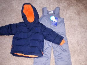 Snow pants and jacket (size 18-24 month)