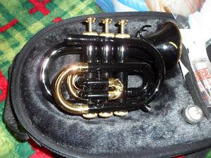 Jupiter - Pocket Trumpet - Black $400