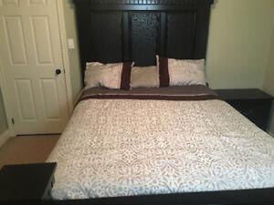 4 piece bedset with matress