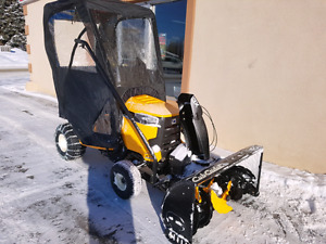 CUB CADET LAWN TRACTOR WITH SNOWBLOWER ATTACHMENT