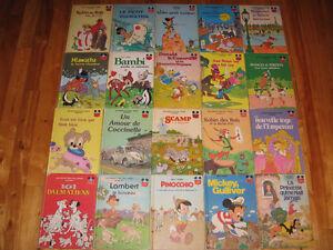 20 Livres vintage de Walt Disney