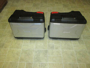 SADDLEBAGS / PANNIERS / CASES for R1200 GS BMW