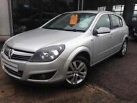 2009 (59) Vauxhall Astra 1.4i 16v SXi 5 Door (Finance Available)