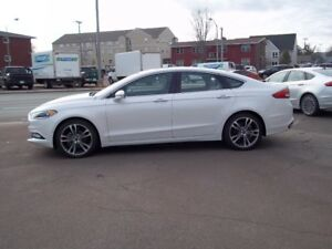 2017 Ford Fusion Titanium 4 Door, AWD St # 1037