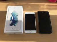 Perfect condition iPhone 6S Plus 64GB Silver Unlocked