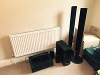 Yamaha full surround sounds with LG speakers