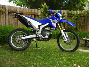 Yamaha WR250R. This bike has everything!! Top of the line!