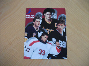 Photo Patrick Roy, Mario Lemieux , Brett Hull & Wayne Gretzky
