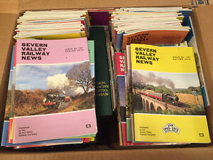 Collection of Severn Valley Railway News magazines
