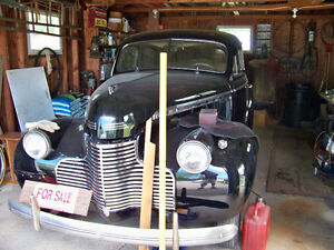 1940 Chevrolet Special Deluxe- Ground Up Restoration