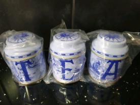 English tea tins