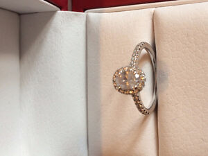 Unique Oval Engagement Ring for Sale