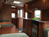 Bessacarr 550 GL. Twin axle caravan