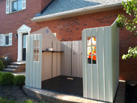 COSTCO LIFETIME SHED INSTALLATION 647-667-2181