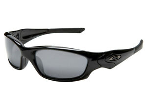 ad2a4b8310 Oakley Straight Jacket Sunglasses 04-325 Polished Black Black Iridium