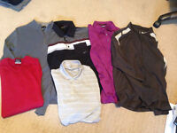 Men's Nike Golf Assorted Polos, Sweaters, Pullovers - MUST SELL!