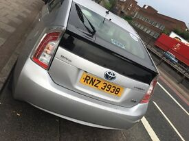 Pco Car For Rent- Toyota Prius 2013 leather seat