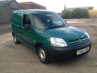 JUST TAKEN IN PART EX TO CLEAR 2003 BERLINGO VAN 1.9 DIESEL £375