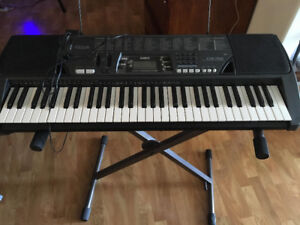 Keyboard and Stand Never used