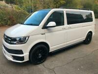 2018 Volkswagen Transporter T6 TDI 9 SEAT SHUTTLE SE LWB IN CANDY WHITE - EURO S