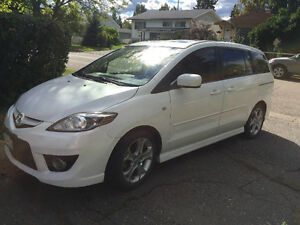 2008 Mazda Mazda5 GT Sport (with winter tires!) Prince George British Columbia image 9